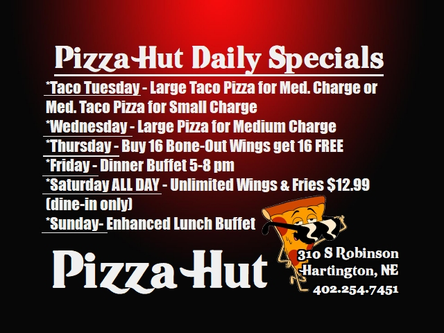 Pizza Hut Daily Specials