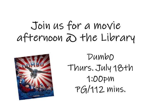 Movie at the Library!