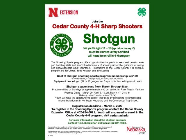 Cedar County 4-H Sharp Shooters