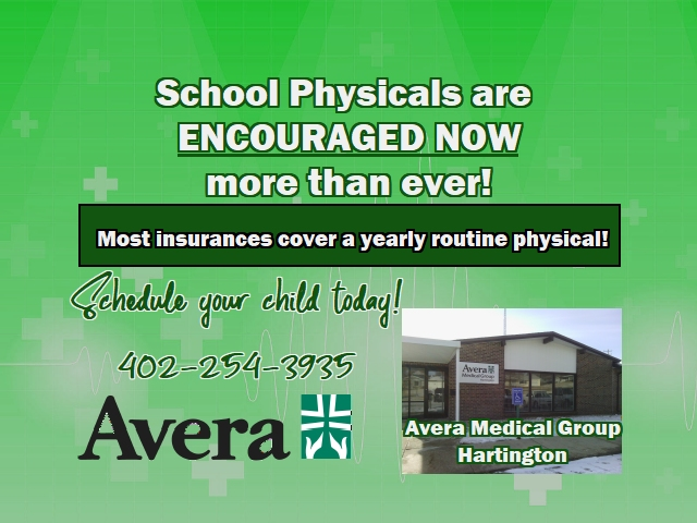 Avera School Physicals