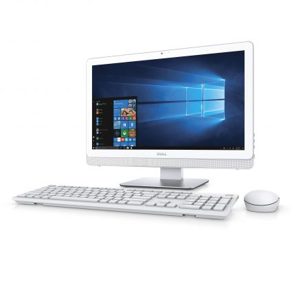 Dell Inspiron 22 3000 Series (Model 3265) All-in-One Npn-Touch desktop computer with AMD processor Keyboard layer options: KB216 multimedia keyboard (Rusty); KM714 wireless keyboard and mouse (Tangerine); KM636 wireless keyboard and mouse (Persian).